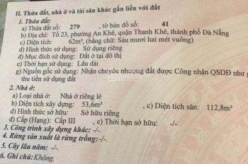 CC cần bán nhà 2 mặt kiệt ô tô Trường Chinh thông Nguyễn Phước Nguyên