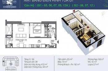Cho thuê căn hộ tại DA Sunshine Garden, đường Dương Văn Bé, HBT, 0989886679, 0912687476