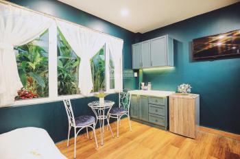 Cho thuê tòa nhà 8x15m 5 lầu 17 căn hộ có bếp và 1 quán cafe, quán ăn 115 tr/th LH 0938 600 986