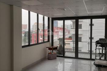 Cần cho thuê tòa nhà VP Phạm Tuấn Tài, Cầu Giấy. DT 50m2 / 8 tầng thang máy, giá: 55tr/tháng