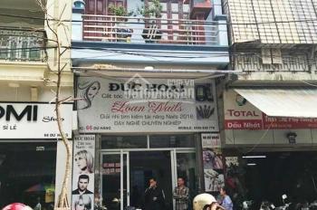 Cho thuê nhà mặt phố Trần Bình, Cầu Giấy 75m2 x 2 tầng, mặt tiền 5m tiện làm hàng ăn