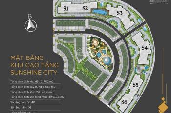 Cần bán nhanh căn góc tòa S6/ 3PN/97.6m2, giá chỉ 3.75 tỷ, hỗ trợ vay 25 năm tại Sunshine City