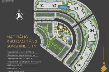 Cần bán nhanh căn góc tòa S6/ 3PN 97.6m2, giá chỉ 3.75 tỷ, hỗ trợ vay 25 năm tại Sunshine City