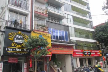 CC cho thuê gấp tòa nhà văn phòng 6T thang máy MP Hoàng Ngân 456m2, chỉ 70 tr/th. LH: 0989.62.6116