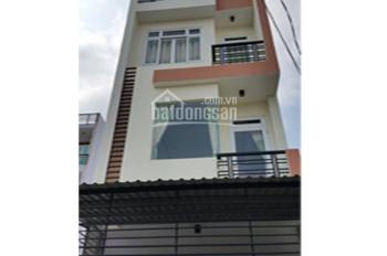 Cho thuê nhà đẹp 4 tấm nở hậu mặt tiền đường Nguyễn Hồng Đào, P. 14, Quận Tân Bình