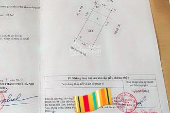 Bán gấp đất 918, Phúc Đồng 42m2, mặt tiền đẹp 4m, 2 ô tô tránh nhau, khu vực hót nhất Phúc Đồng