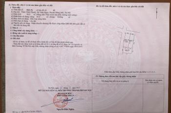 Chính chủ bán mảnh đất thổ cư hai mặt tiền tại thôn Vĩnh Thanh, Vĩnh Ngọc, Đông Anh, Hà Nội