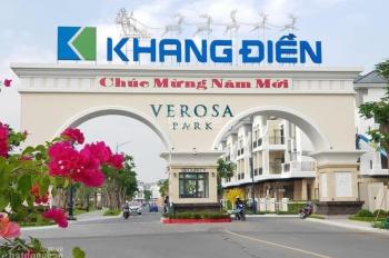 Nhà phố liên kế Verosa Park Khang Điền, giá tốt nhất dự án và lý do nên đầu tư