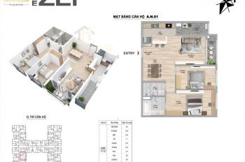 Cần bán căn hộ B09 - 14, diện tích 92m2, căn 2 phòng, giá 3 tỷ, liên hệ 0941518338
