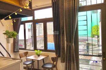 Căn hộ có gác xinh lung linh quận Phú Nhuận, giá chỉ 7tr5 full tiện nghi + ban công + bếp