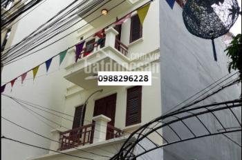 Cho thuê nhà riêng 4 tầng tại ngõ 43 Doãn Kế Thiện 67m mt4,7 tiện ở hoặc làm vp giá 18tr 0988296228