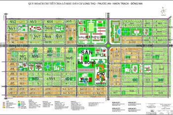 Tôi cần bán 1 số lô đất thuộc dự án HUD - XDHN Nhơn Trạch - Đồng Nai, nhận ký gửi mua bán nhà đất