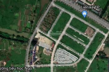 CC bán đất đấu giá NV1 Tứ Hiệp, Thanh Trì, HN, đường chính, DT 148m2, MT 9.5m, KD tốt