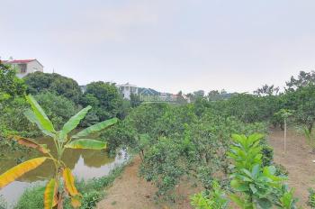 Cần bán 2938m2 đất có ao thả cá, làm nghỉ dưỡng tuyệt đẹp, tại TT Xuân Mai, Chương Mỹ, Hà Nội