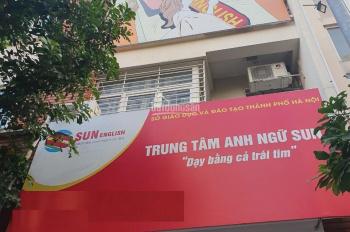 Cho thuê liền kề khu đô thị Nguyễn Văn Lộc DT: 80m x 4 tầng, 1 hầm MT 5m giá 25tr/ tháng
