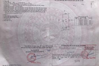 Bán đất 11*25m sổ hồng riêng, thổ cư 100%, xã Hòa Phú, Củ Chi
