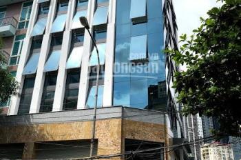 Cần cho thuê nhà nguyên căn Phạm Tuấn Tài. Diện tích 80m2 * 6 tầng, mặt tiền 12m, giá 45tr/tháng