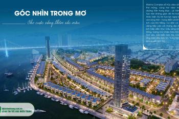 Bán nhà 3 tầng 2 mặt tiền view sông Hàn, dự án Marina, giá đầu tư
