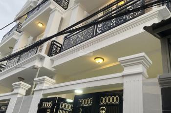 Bán nhà 3 lầu xây mới, sổ hồng hoàn công đủ, diện tích 66m2 nở hậu, Hiệp Bình Chánh giá 5,46tỷ