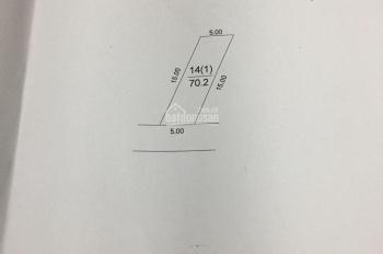 Cần cho ra nhanh mảnh đất 70m2 tại Cán Khê, Nguyên Khê, Đông Anh, HN