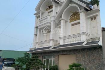 Bán nhà 1 trệt 2 lầu, mặt tiền chợ đêm Hòa Lân