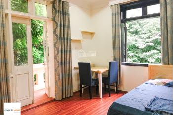 Cho thuê căn hộ 1 ngủ trong khuôn viên xanh tiện ích khách sạn giá chỉ từ 6 tr - 8tr/th