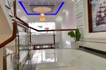Cho thuê nhà 4 tấm mặt tiền khu đông đúc đường Phú Hòa, P. 7, Q. Tân Bình