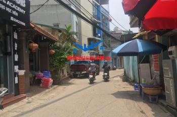 Bán đất tại Đào Nguyên, Trâu Quỳ diện tích 75m2 MT 5m đường thông kinh doanh nhỏ