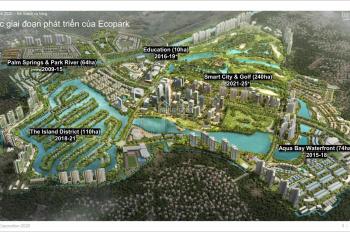 Biệt thự đảo Ecopark DT từ 270m2, chiết khấu TT 15%, ưu đãi LS 0% vay 36 tháng, tặng 999 triệu