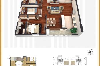 Chiết khấu siêu khủng 25% GTCH quỹ 10 căn hộ 3 phòng ngủ cuối cùng tại Times Tower, 35 Lê Văn Lương