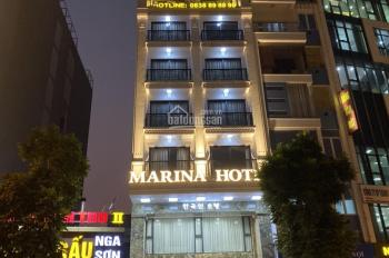 Bán khách sạn 9 tầng, mặt phố Miếu Đầm, đối diễn ks JW Marriot, đang cho thuê 400tr/tháng