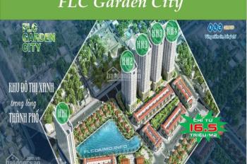 Dự án nhà ở xã hội FLC Garden City - Đại Mỗ, chỉ 16.5-20tr/m2