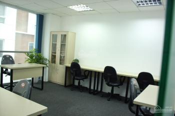 Cho thuê văn phòng full nội thất tầng 11 tòa Việt Á, Duy Tân, DT: 10m2 - 21m2 - 30m2,0904920082