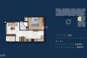 Tôi cần bán gấp căn 43m2, tầng 15, giá thu hồi vốn, khách nào quan tâm liên hệ cho tôi sẽ bớt lộc