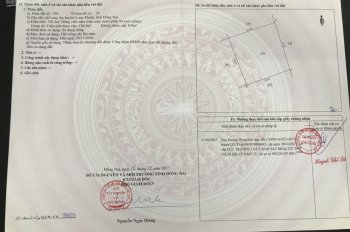 Chính chủ cần bán lỗ miếng đất lớn ở Long Thành, xây dựng tự do, đường vào sân bay 0913.390.550