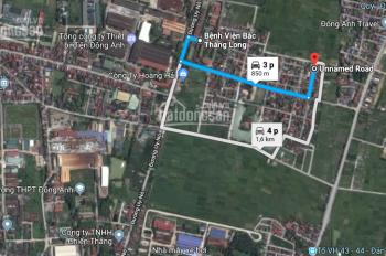 Bán đất tại Kính Nỗ - Uy Nỗ - Đông Anh - Hà Nội