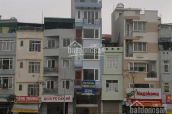Nhà mặt ngõ 106 Hoàng Quốc Việt 50m2 xây 5 tầng. (kinh doanh được) giá 16tr/tháng