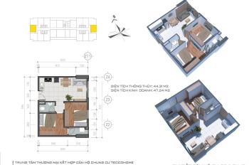 Tecco Home căn hộ giá rẻ trung tâm Thuận An - Bình Dương. Giai đoạn 1 từ 950 triệu/căn 2PN (đã VAT)