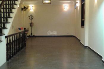 Cho thuê nhà mặt phố Âu Cơ, diện tích 60m2 * 4 tầng, nhà đẹp, làm VP hoặc kinh doanh