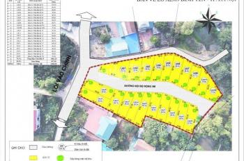 Bán đất nền Hòa Lạc dự án Hola Town, Bình Yên, Thạch Thất, Hà Nội, đã có sổ đỏ, giá chỉ từ 7tr/m2