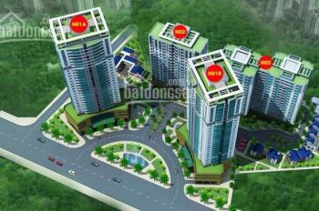 Bán gấp căn hộ 1602 N03B dự án K35 Tân Mai. Giá siêu rẻ cho người mua ở, căn 3PN view hồ Đền Lừ