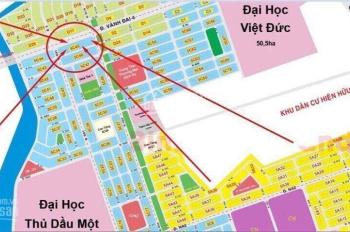 Cần bán 10m ngang mặt tiền Vành Đai 4 cạnh Trường Đại Học Việt Đức giá F0, thanh toán kéo dài 4 đợt