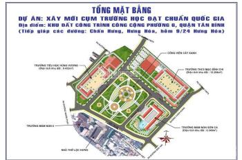Bán nhà mặt tiền đường Chấn Hưng, Tân Bình, đoạn đẹp gần đường CMT8, DT: 4.3 x 16.5m, nhà cực đẹp