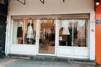 Cho thuê nhà mặt phố Vũ Phạm Hàm 45tr/tháng làm cửa hàng. MT 7 mét
