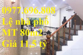 Bán nhà mặt tiền Nguyễn Thái Sơn,P3, Gò Vấp, 80m2, ngang 4m giá chỉ 11,5 tỷ