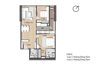 Bán căn hộ Summit Building 216 Trần Duy Hưng, chiết khấu 4% tặng nội thất 40 triệu. LH 0973532580