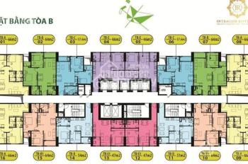 Tôi cần bán rất gấp CH 1508: 66.8m2 chung cư Intracom Đông Anh, giá bán 21.5tr/m2. LH 0904999135