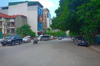 Bán nhà mặt phố Trần Quốc Hoàn, Trần Đăng Ninh. Diện tích 101m2 x 6,5T, MT: 7,6m, giá: 44 tỷ
