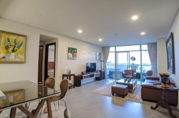 Cho thuê căn hộ 121m2 CC Watermark 395 Lạc Long Quân, 2PN, view thẳng Hồ Tây, nội thất cực đẹp