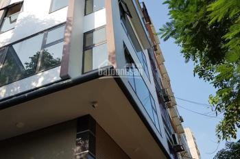 Cho thuê nhà Mễ Trì Hạ, Nam Từ Liêm, Hà Nội. DT 110m2, 7 tầng, MT 6m, thang máy giá 40tr/th
